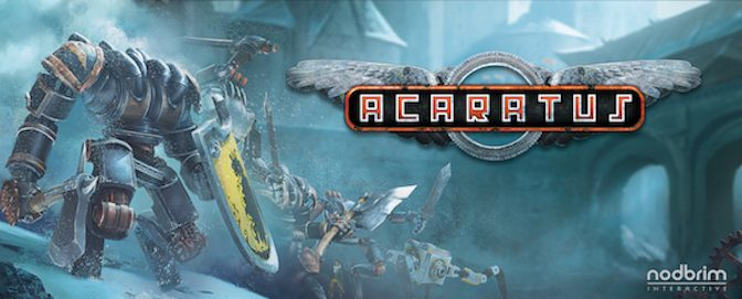 Battle With a Medieval Steampunk Mech in Acaratus