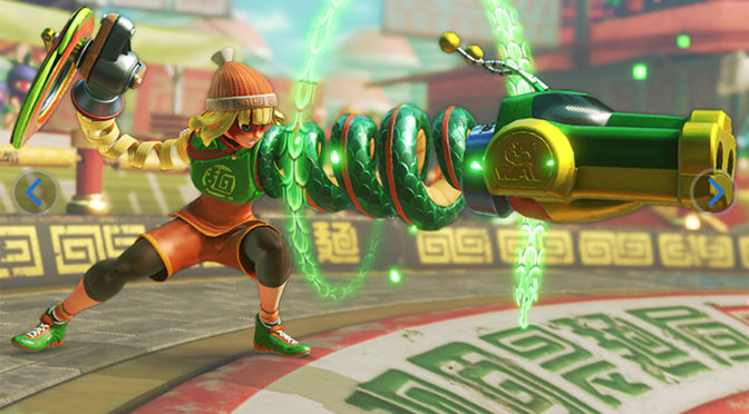 ARMS Stretches out Comedy Combat on Nintendo Switch