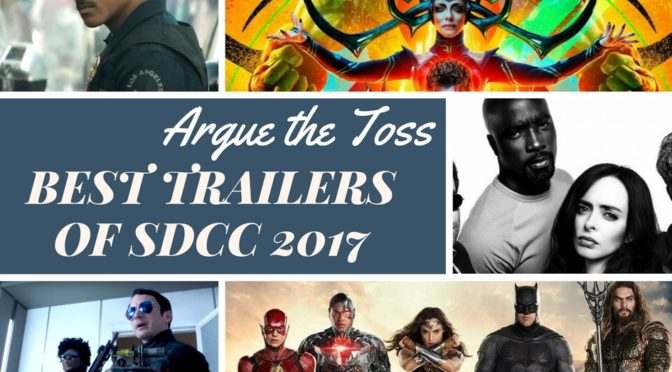 Best trailers of San Diego Comic-Con 2017