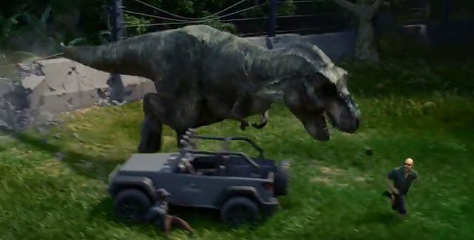 Upcoming Jurassic World Game Lets Players Run The Park