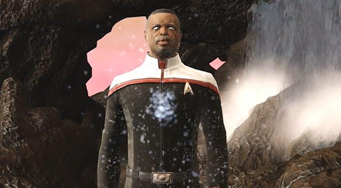 LeVar Burton Joins Star Trek Online As Captain Geordi La Forge