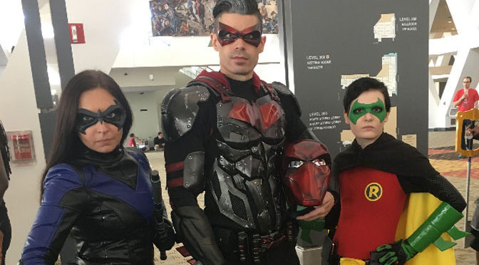 Baltimore Comic-Con: Bruce and Alfred, It's us, Gotham fans
