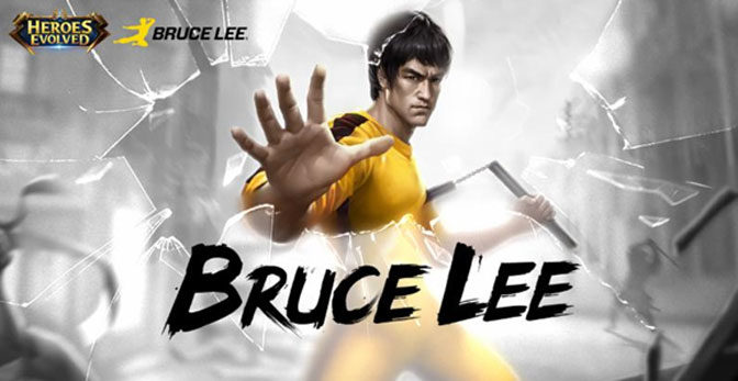 Bruce Lee Character to Appear in Heroes Evolved Mobile Title