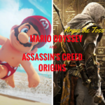 Having fun with Assassin's Creed Origins and Mario Odyssey