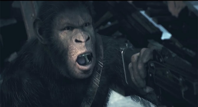 Planet of the Apes Last Frontier Game Gets Launch Trailer