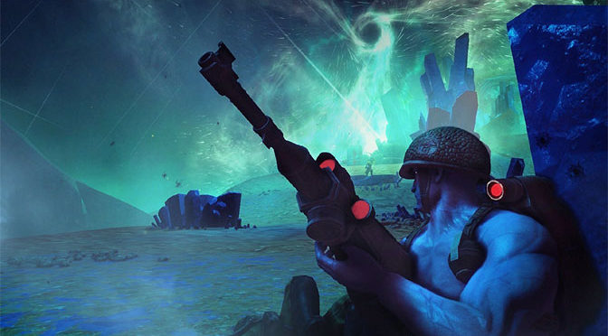 Rogue Trooper Redux: The Blue Man Group At War