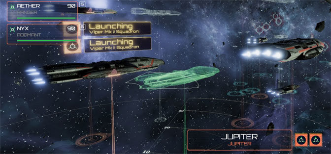 Battlestar Galactica Deadlock Offers Lively Tactical Combat