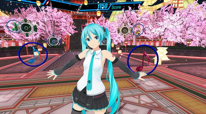 Famous Virtual Singer Hatsune Miku Gets Own VR Game