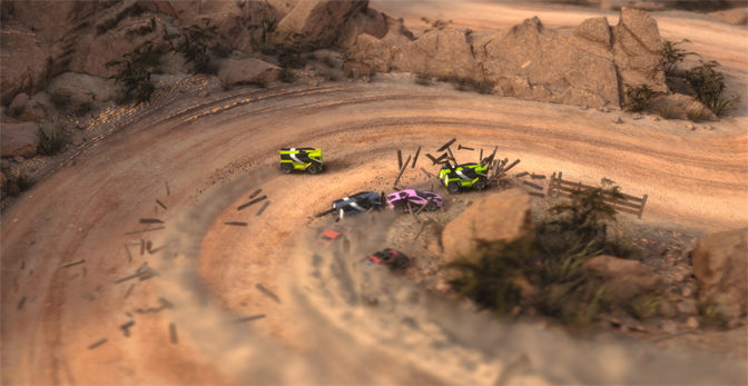 Mantis Burn Racing Free During First eSports Tourney