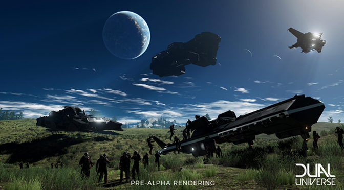 Sci-Fi MMO Dual Universe Gears Up With Supporter Packs