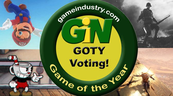 Vote Now for The Games of the Year!