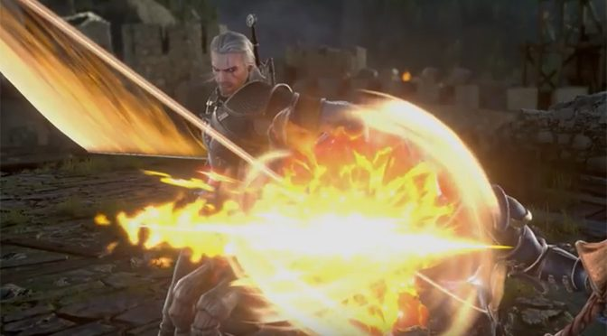 Geralt of Rivia Challenges Soulcalibur VI Fighters