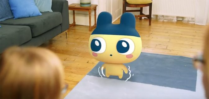 My Tamagotchi Forever Augmented Reality Comes to Mobile