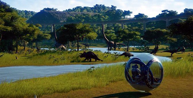 Jurassic World Evolution Releases the Dinosaurs