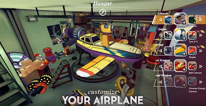 Diesel-punk Adventure AIRHEART Readying for Takeoff