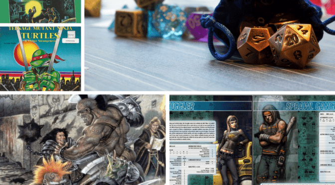 Tabletop roleplaying games: beyond DnD