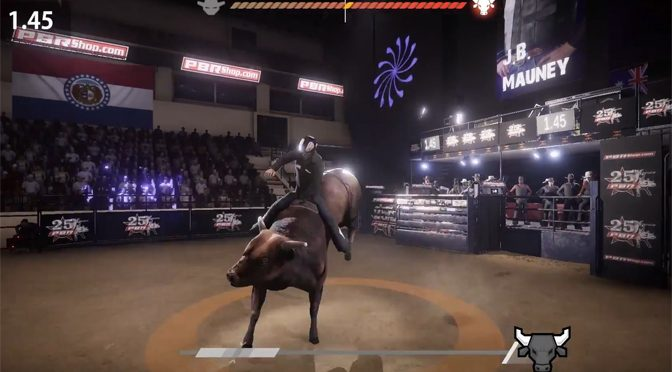 THQ Nordic to Distribute 8 to Glory Bull Riding Game