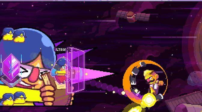 Ultra Space Battle Brawl is a Blast!