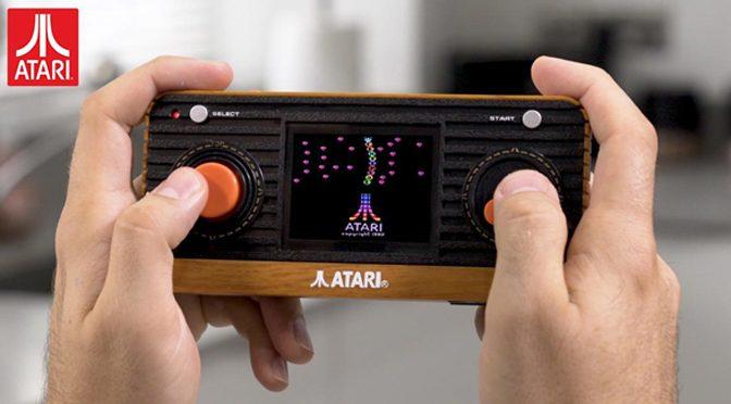 New Atari Portable Handheld Hits Europe