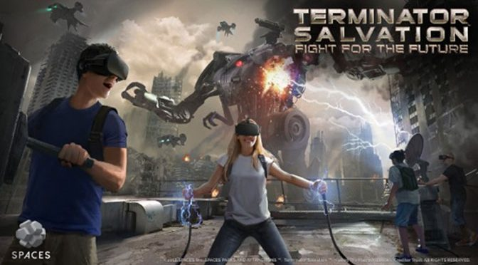 SEGA and Spaces Create New Terminator VR Game in Downtown Tokyo
