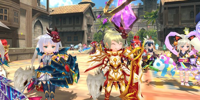 English Version of Elemental Knights R Launches on Switch