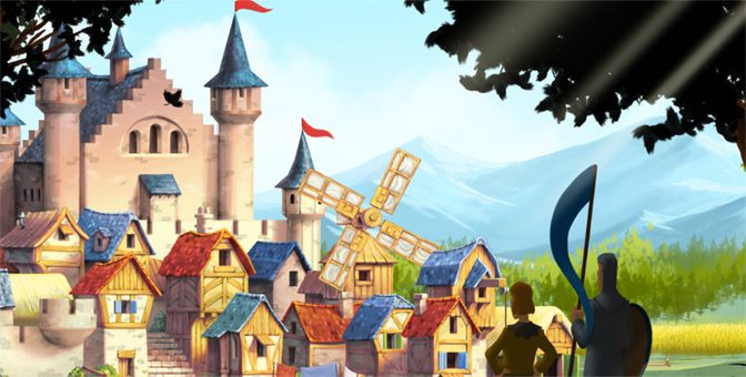 Building Up A Home With Townsmen
