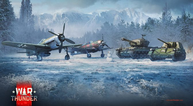 War Thunder Giving Away Four Premium Vehicles For Holiday Battle