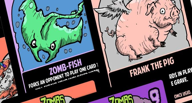Enjoying Zombs: A Half-brained Card Game