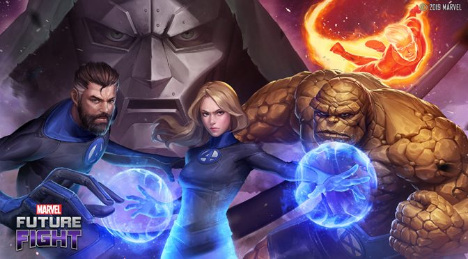 The Fantastic Four Join Marvel Future Fight Game