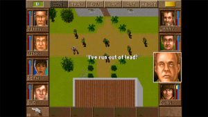 The original Jagged Alliance game in all it's 1995-era glory.