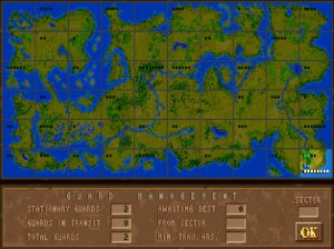 The origional Jagged Alliance map. Your 2D world is ready to conquer!