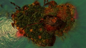 The island where Jagged Alliance: Rage takes place.