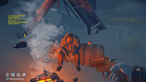 One of the new folks from the remade Long Dark game.