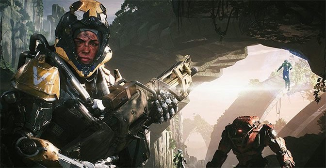 Anthem Impresses Gamers Sliding Into Release