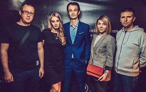 In the Photo (left to right): Eugene Sister (producer of the game), Lily Tkach (film producer), Nikita Ordynskiy (Film Director), Natalia Ogloblina (Head of the studio Warm Lamp Games), Evgeny Seryshev (Head of Development of Warm Lamp Games)