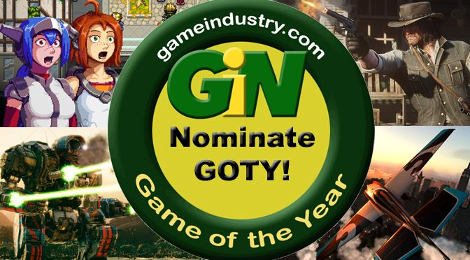 Nominate The Games of the Year