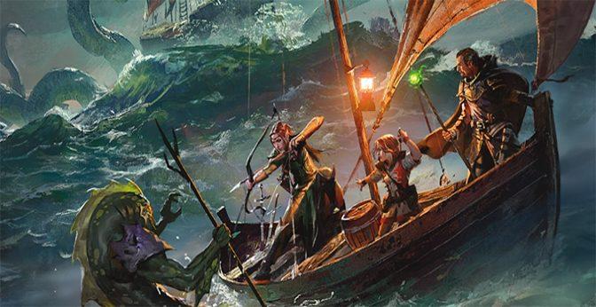 Ghosts of Saltmarsh Sea-Faring D&D Adventure Nears Release