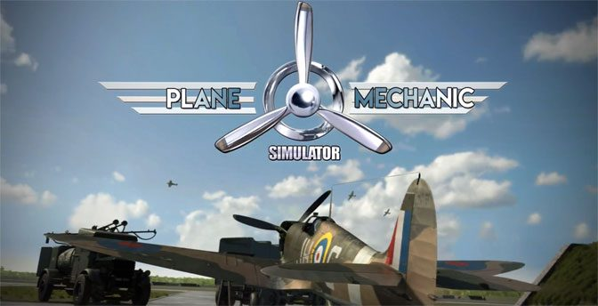 Plane Mechanic Simulator Takes off On Steam Charts