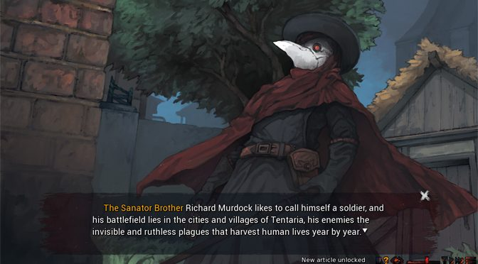 Dark Fantasy Sanator: Scarlet Scarf Begins Steam Demo