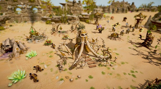 Rocking Stone Age RTS Warparty Nears Release