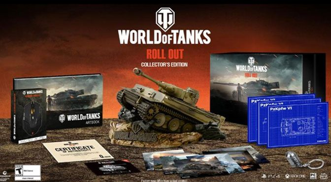 World of Tanks Rolling Out Packed, Limited Collector's Edition