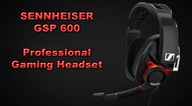 Sound And Fury With the GSP 600 Gaming Headset