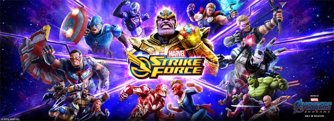 Avengers Fly Into MARVEL STRIKE FORCE