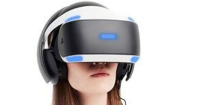 An image of the current Sony VR Headset for the PlayStation gaming system from their website.