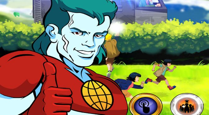 Captain Planet Mobile Game Raising Money for Environment