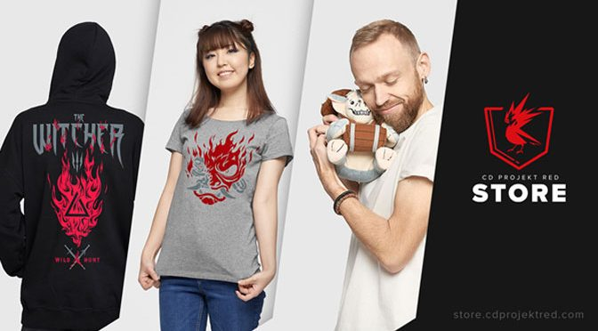 CD PROJEKT RED Opens Merchandise Store