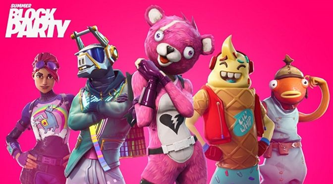 Fortnite Announces Summer Block Party in Los Angeles