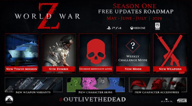 World War Z Reveals Post-Launch Content Roadmap