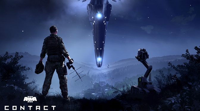 Arma 3 Contact Sci-fi Spin-off Expansion Deploys