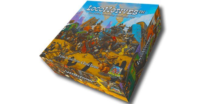 LocoMotives Augmented Reality Board Game Comming to Gen Con